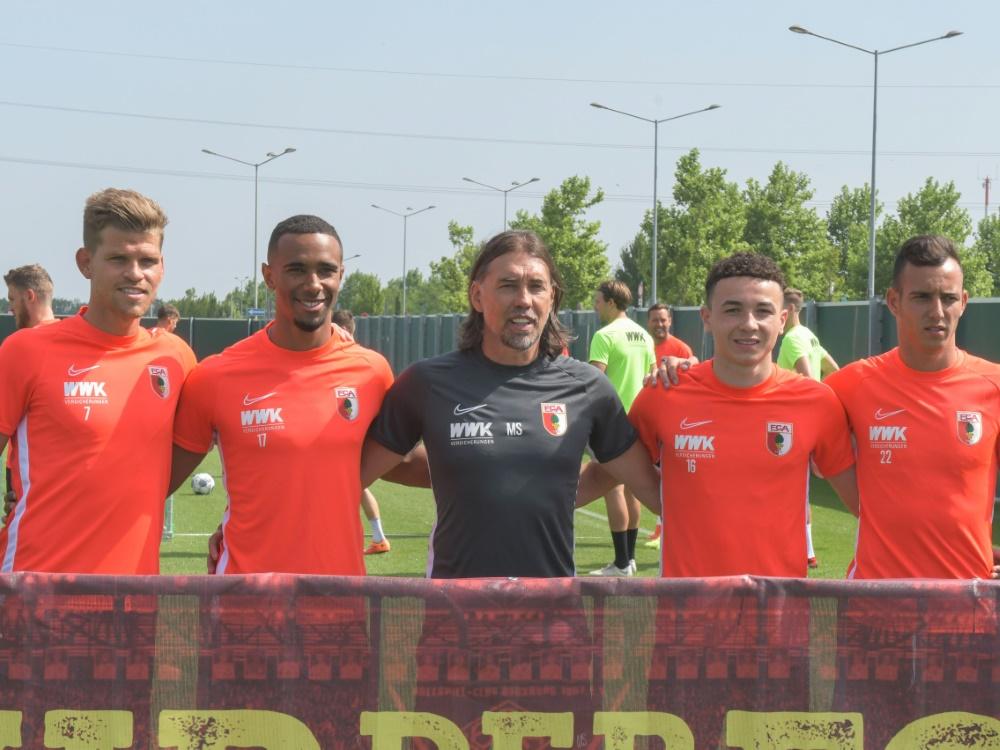 Der FC Augsburg gewann das Testspiel gegen Gundelfingen