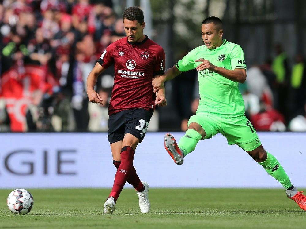 Georg Margreitter (l.) verlässt Nürnberg Ende der Saison