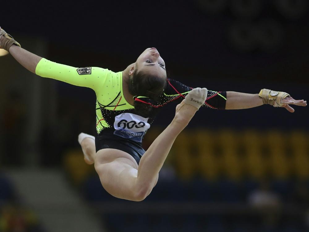Leah Grießer hat in Birmingham Rang sechs belegt