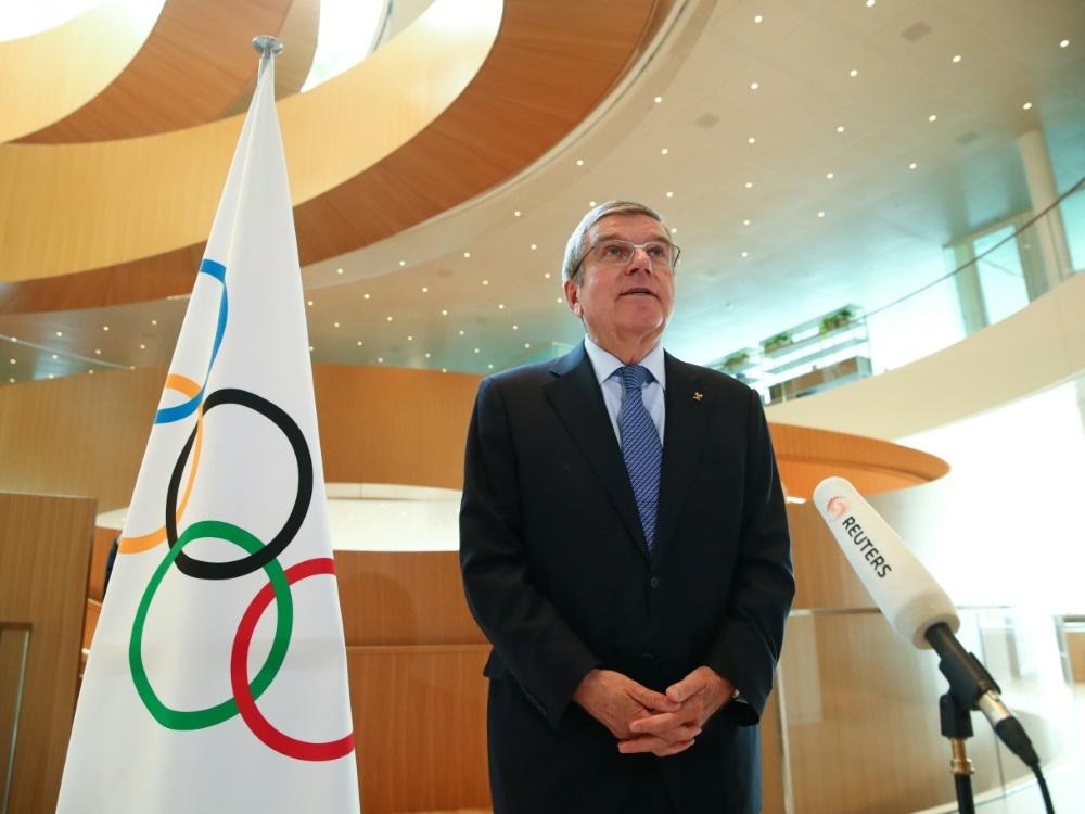 Das Komitee ehrte Thomas Bachs Verdienste im Sport