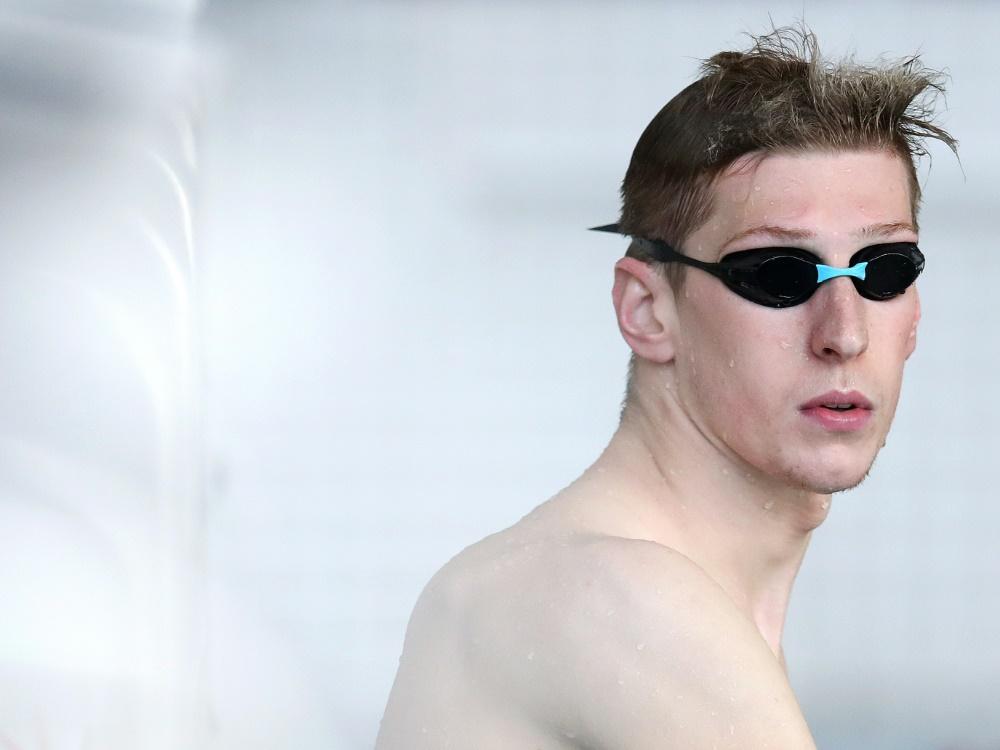 Florian Wellbrock will einen dopingfreien Schwimmsport
