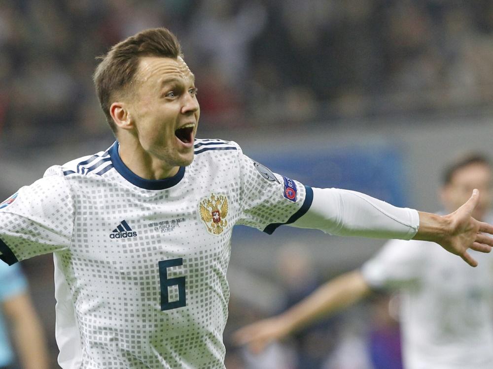 Zwei Treffer gegen Kasachstan: Denis Cherychev