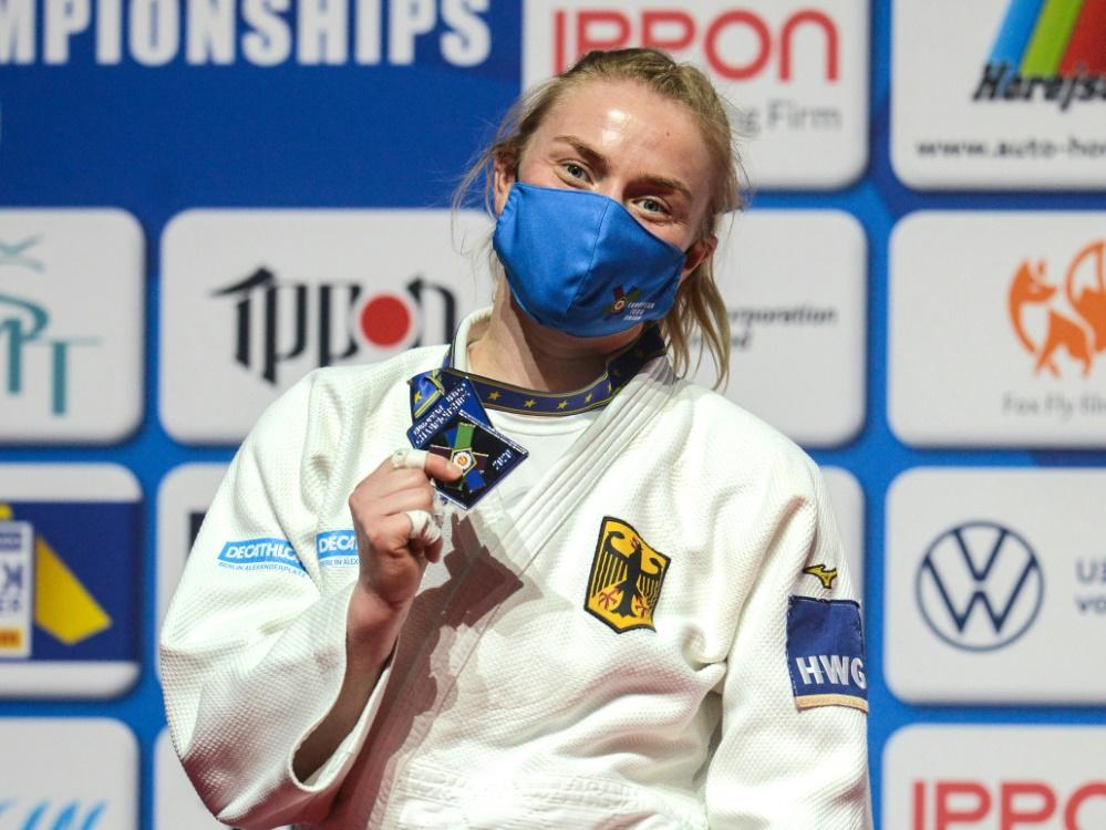 Judo: Luise Malzahn verpasst den EM-Titel hauchdünn