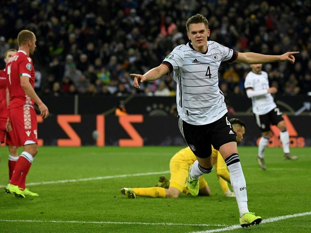 Die DFB-Elf darf sich über die erneute EM-Teilnahme freuen