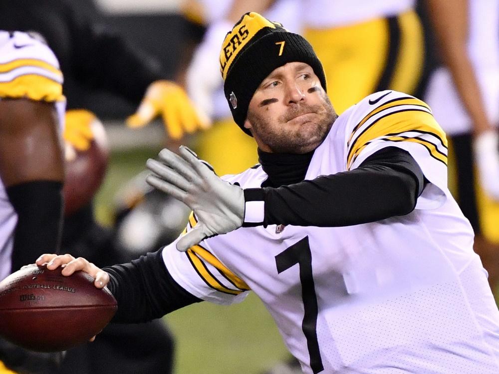 NFL-Star Ben Roethlisberger erhält neuen Vertrag in Pittsburgh