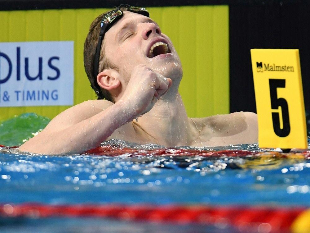 Philip Heintz schwimmt in Doha auf Rang zwei