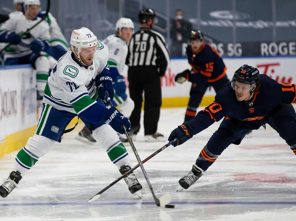 Die Oilers verlieren gegen die Canucks