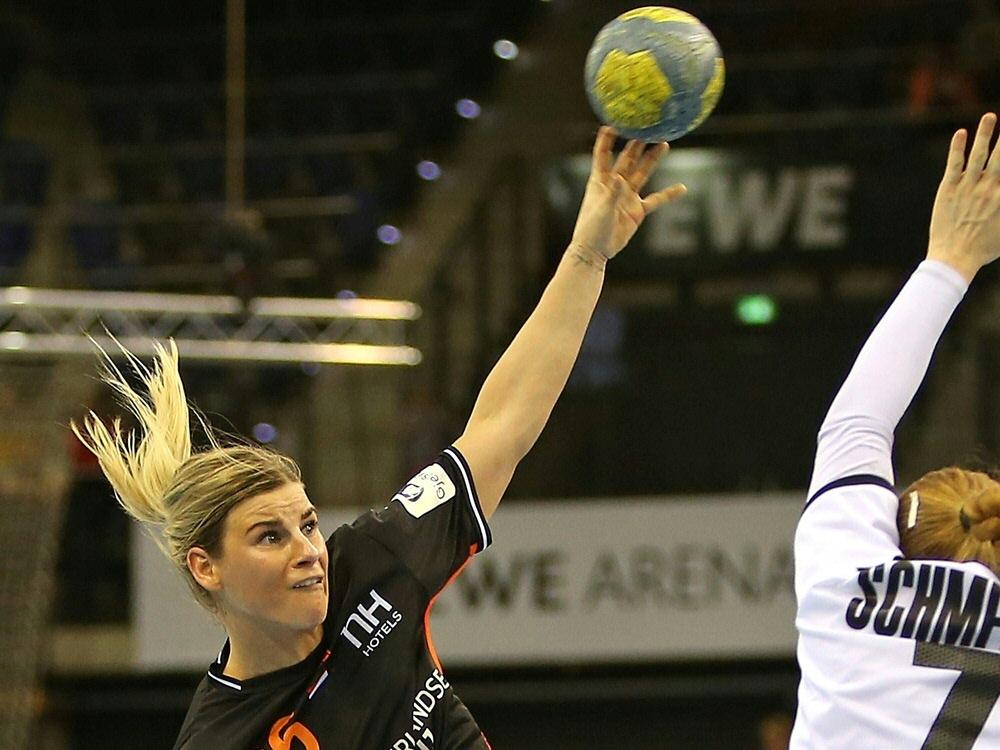Angela Malestein erzielt sieben Treffer für Bietigheim