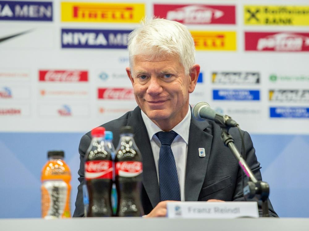 Franz Reindl möchte die WM 2027 oder 2028 ausrichten