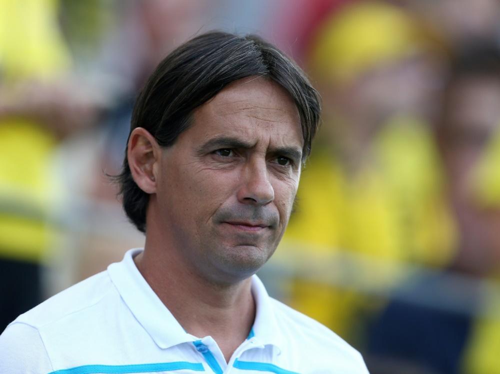 Lazio Rom verlängert den Vertrag von Simone Inzaghi