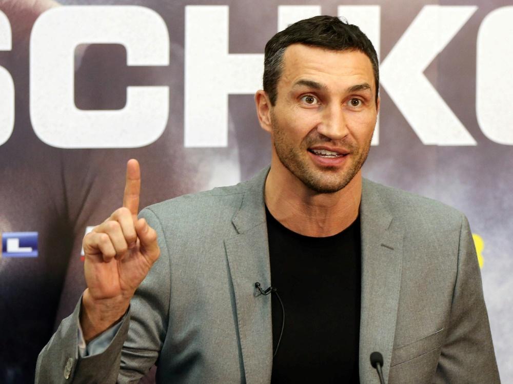 Wladimir Klitschko spricht über seine Doktorarbeit