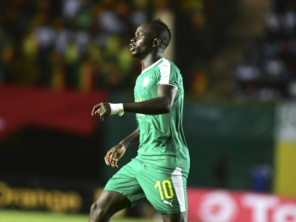 Sadio Mané verletzte sich beim Länderspiel gegen den Sudan