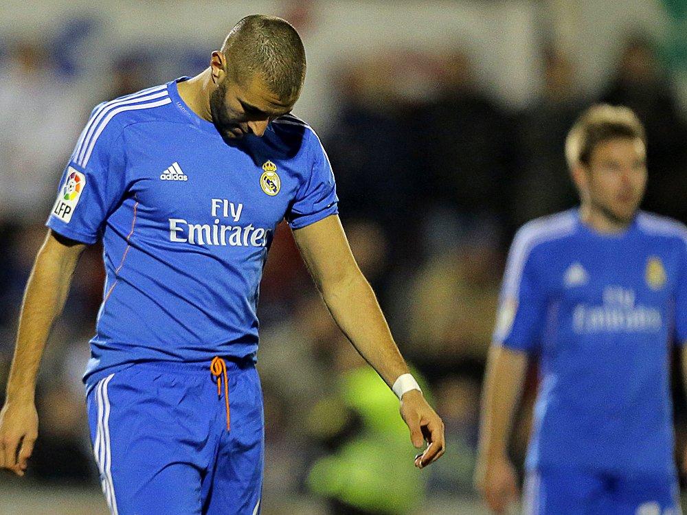 Real Madrid kam im Pokal nur zu eine Unentschieden
