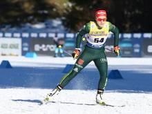 Katharina Hennig lief als beste Deutsche auf Platz zehn