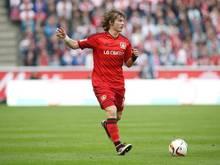 Tin Jedvaj von Bayer Leverkusen erleidet Fußprellung