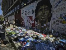 Weitere Befragungen zum Tode Diego Maradonas