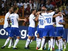 Die Squadra Azzurra durfte in Armenien spät jubeln