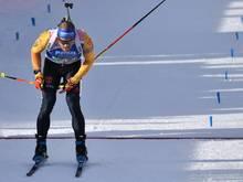 Erik Lesser wird in Kontiolahti über 20 km Dritter