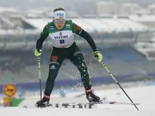 Sandra Ringwald überzeugte beim Weltcup im Teamsprint