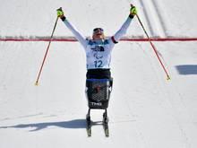 Andrea Eskau gewann bei denParalympics im Biathlon Gold