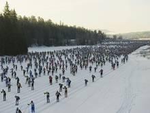 Tausende Sportler bestreiten jährlich den Wasalauf