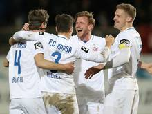 Hansa Rostock steht nach 4:1-Erfolg im DFB-Pokal