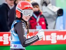Seyfarth sprang am Sonntag auf Platz zwei in Oberstdorf
