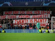 Bayern München muss für Fehlverhalten der Fans zahlen