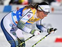 Langläuferin Charlotte Kalla wurde posititv getestet