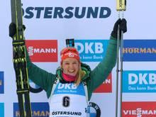 Herrmann gewinnt beim Massenstart in Östersund Bronze