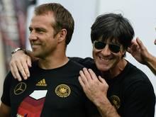 Auch der Bundestrainer gratulierte Flick