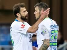 Die Torschützen: Admir Mehmedi (l.) und Daniel Ginczek