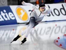 Eisschnellläuferin Roxanne Dufter