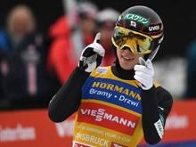 Aktuell der beste Skispringer: Ryoyu Kobayashi