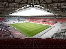 Das neue Freiburger Stadion wurde erfolgreich eingeweiht