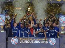 2019 gewann Racing Straßburg den Coupe de la Ligue