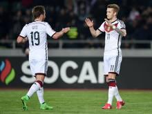 Reus trifft beim 2:0-Sieg der Deutschen