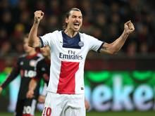 Die Ein-Mann-Übermacht: Zlatan Ibrahimović lässt sich auch in Leverkusen nicht stoppen