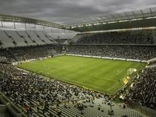 Die Arena in São Paulo ist noch nicht vollständig fertig