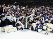 St. Louis Blues am Ziel ihrer Träume