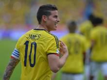James Rodríguez traf für Kolumbien zum Sieg