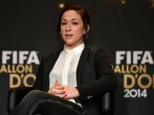 Ex-Weltfußballerin Nadine Keßler beendet ihre Karriere