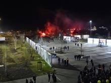 Lyon-Anhänger randalierten vor dem Spiel gegen Moskau