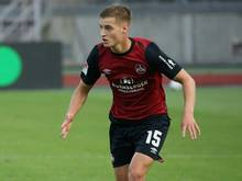 Schoss den 1. FC Nürnberg zum Klassenerhalt: Fabian Nürnberger