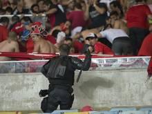 In Argentinien kam es zu Fan-Ausschreitungen