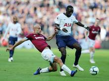 Tottenham verlor das Derby gegen West Ham