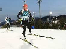 Laura Dahlmeier hat das Training aufgenommen