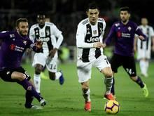 Juve und Ronaldo schlagen den AC Florenz