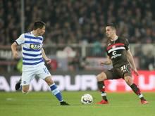Ersin Zehir (r.) wird an den VfB Lübeck ausgeliehen