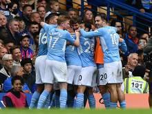 Manchester City bezwingt den FC Chelsea mit 1:0
